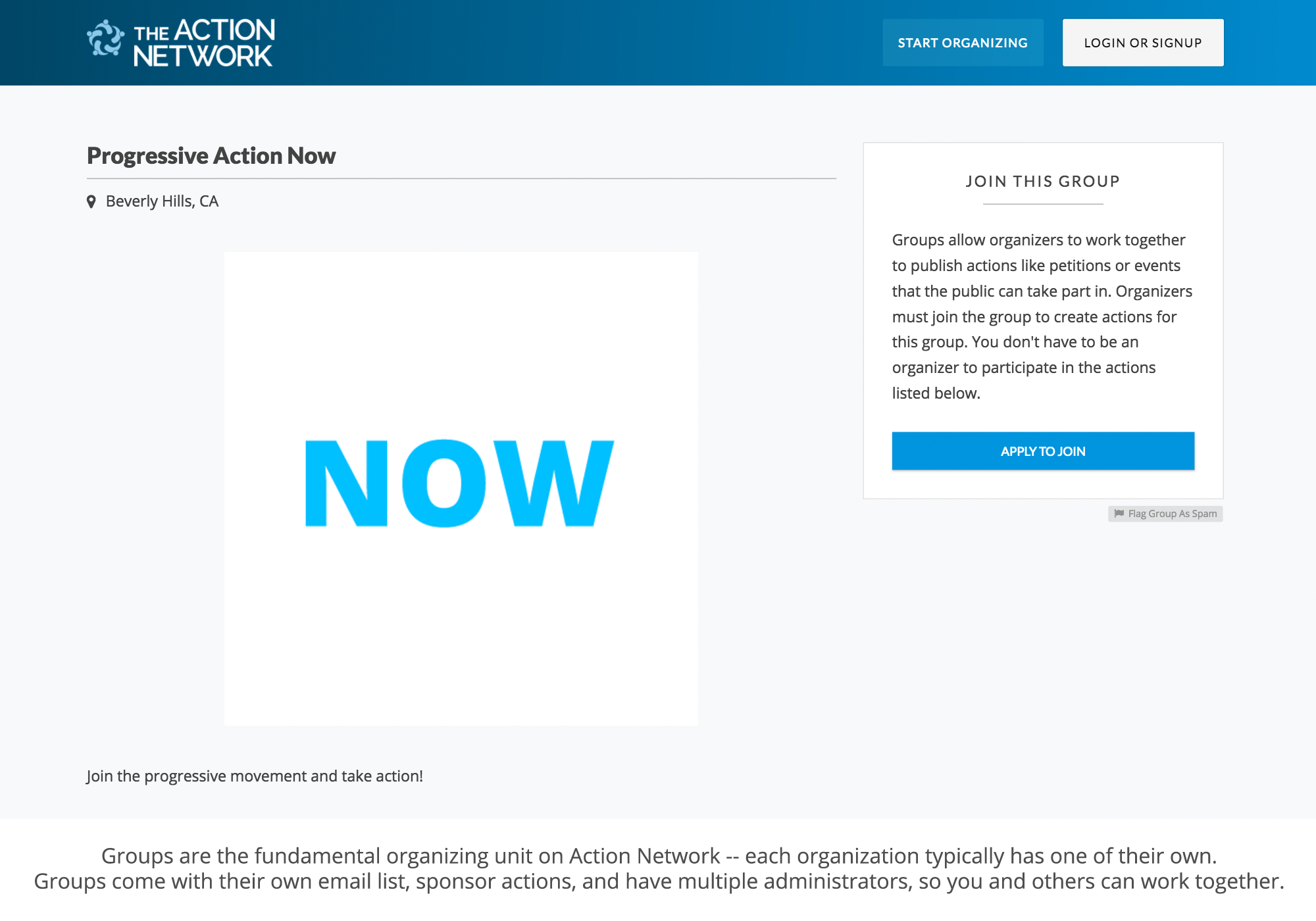 toolset action network gallery image