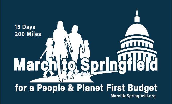 March to Springfield for a People and Planet First Budget