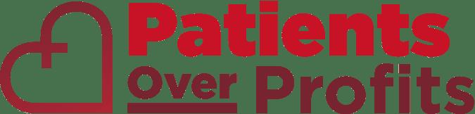 Patients Over Profit Logo