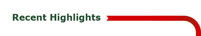 Recent Highlights