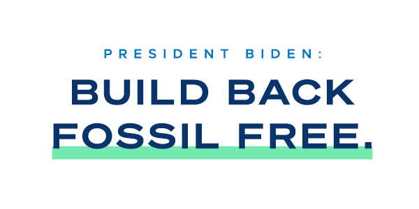 Build Back Fossil Free