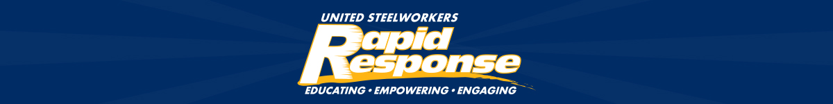 United Steelworkers Rapid Response Action