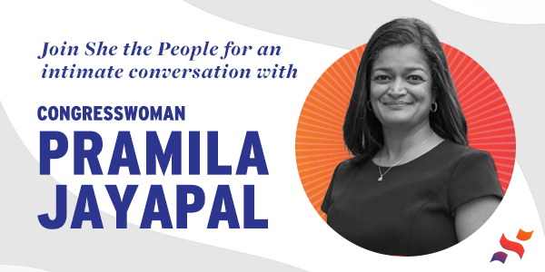 Join Congresswoman Jayapal on Thursday, March 18th at 10am PST on Zoom